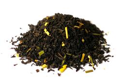 Ginger Lemon black tea organic