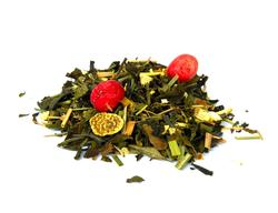 Ibiza Sunrise organic white tea