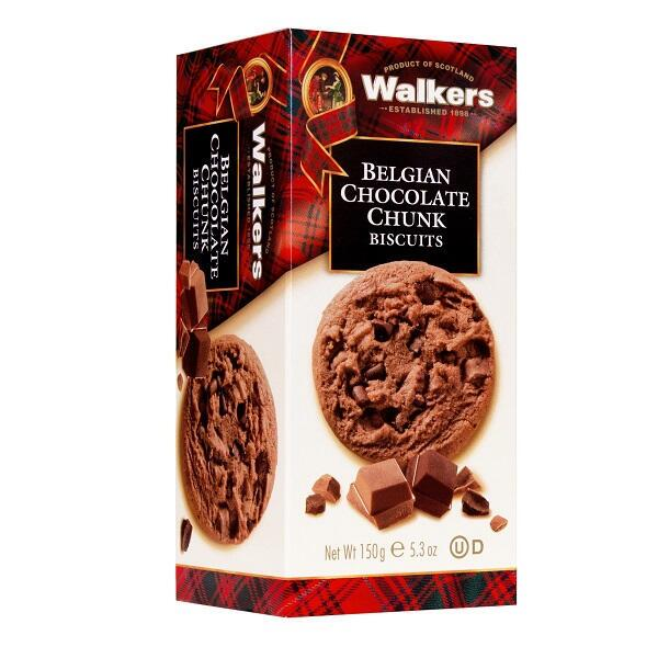 Walkers Belgisk Chocolate Chunk kiks