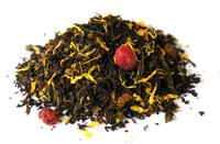 Mango Papaya black tea organic