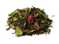 White Currant Raspberry tea with roses organic
